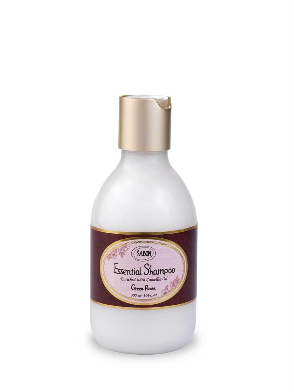 SABON以色列綠玫瑰 經典洗髮乳300ml,980元。(SABON提供)