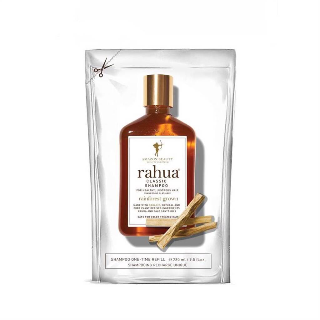 rahua神奇核果綻亮洗髮精補充包,1100元。(rahua提供)