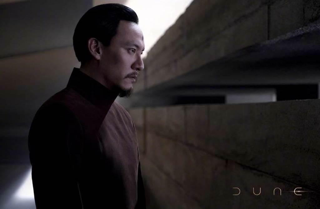 張震在《沙丘》飾演「惠靈頓岳醫生」。(摘自IMDb)