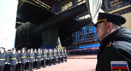 全球最長潛艇 無人水下核載具波塞冬專用母艦進行測試