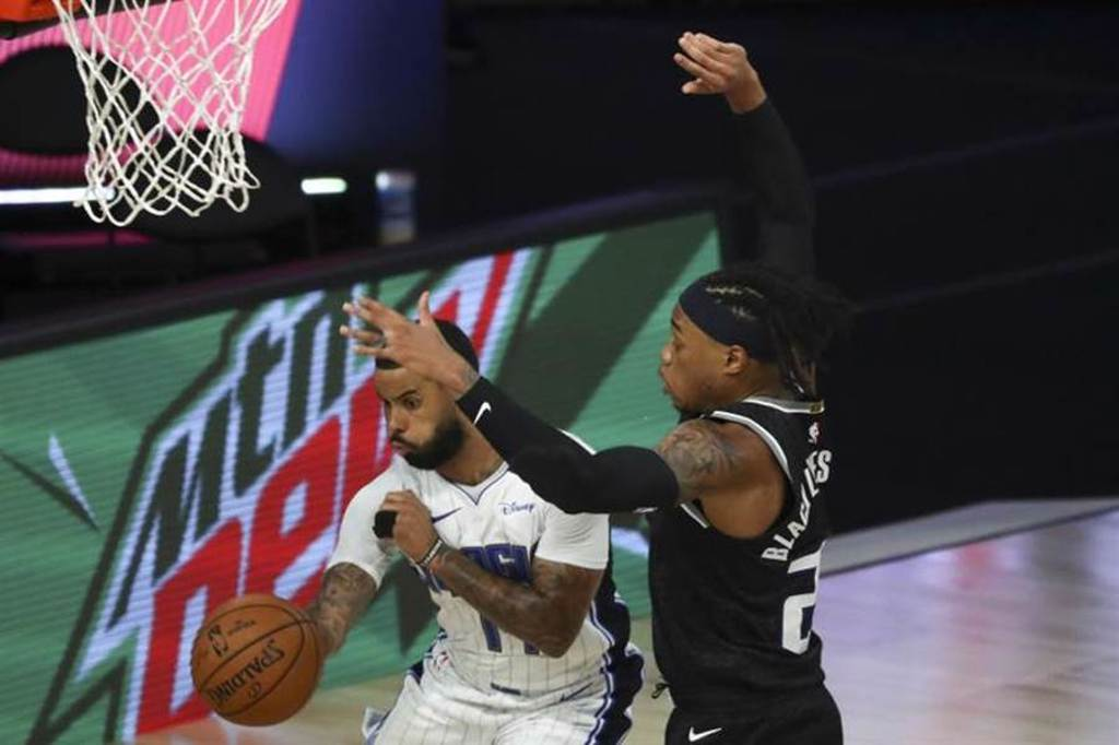 NBA復賽收視強勁,但沒有超過去年的正式開幕戰。(美聯社)