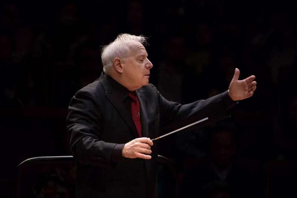 指揮家史拉特金。(圖/國家交響樂團提供)