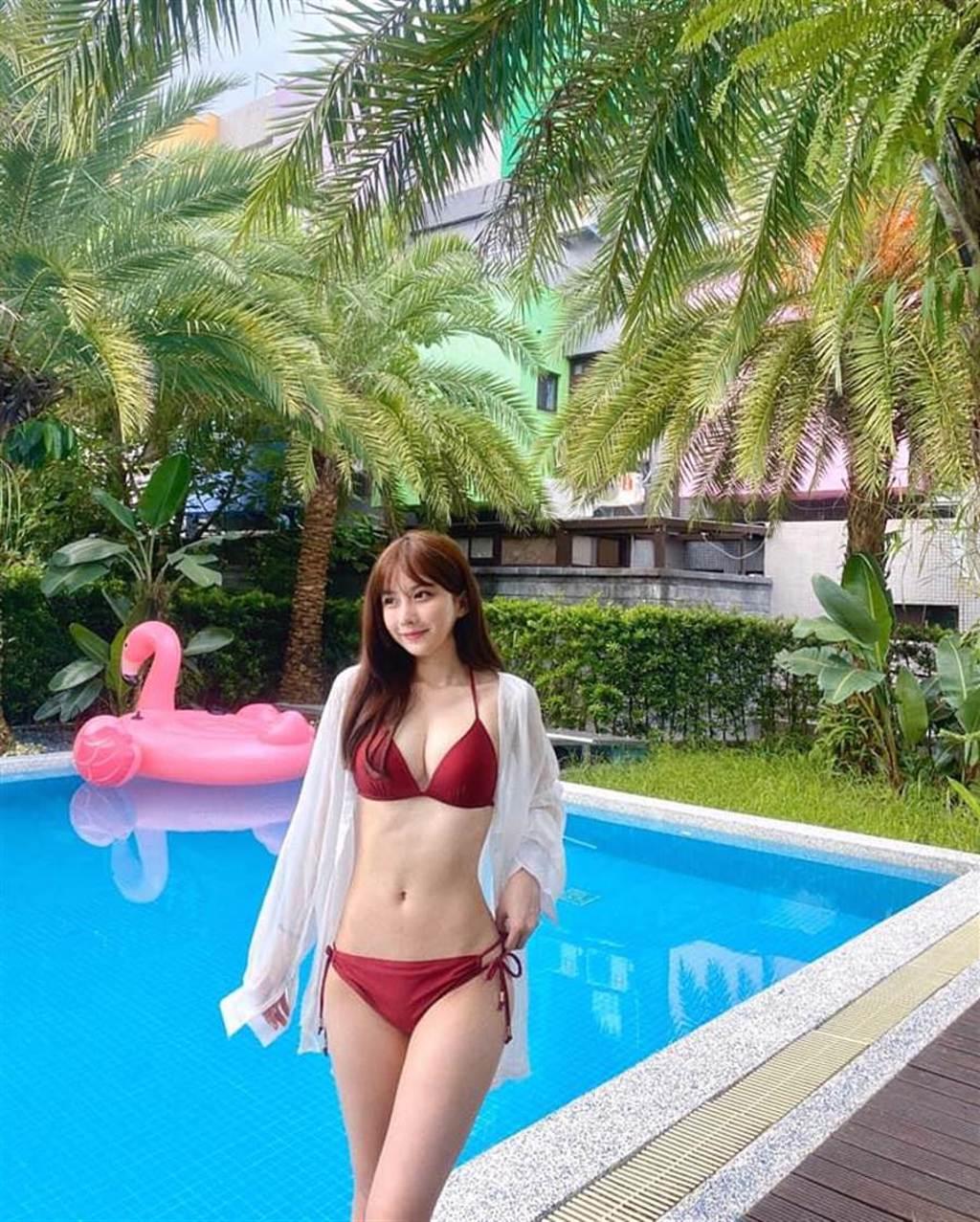 劉坊萱好身材超吸睛。(趣放娛樂提供)