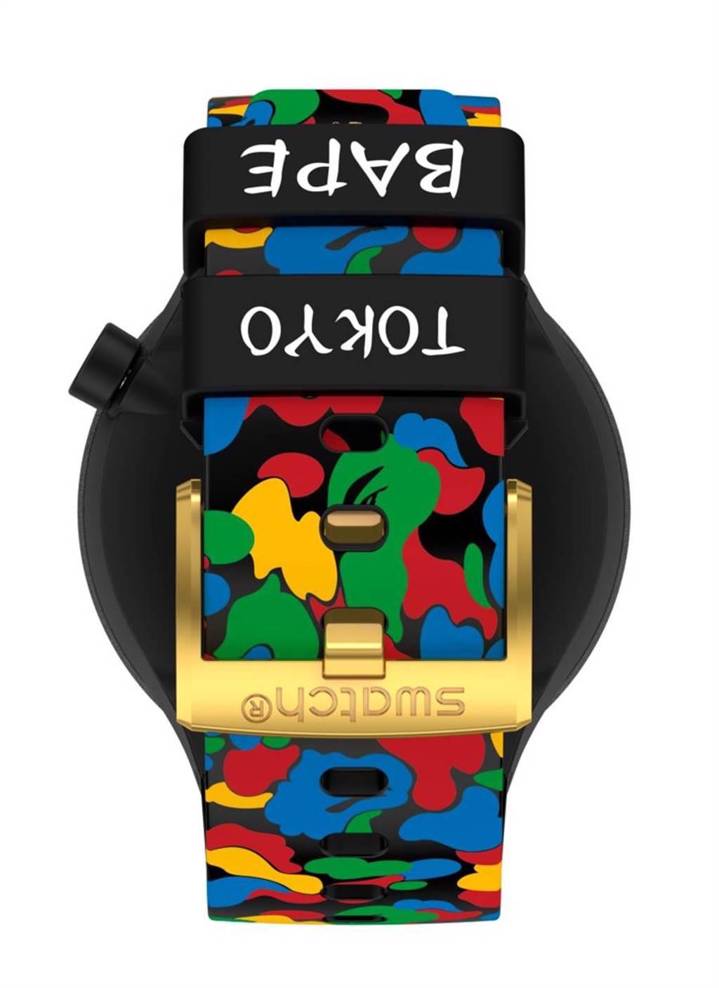 2020 SWATCH X BAPE再次攜手推聯名錶 全球瘋搶限量發售(圖/品牌提供)