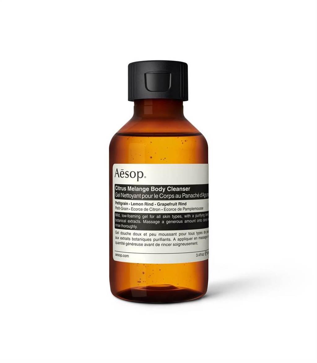 Aesop苦橙香檸身體潔膚露100ml,500元。(Aesop提供)