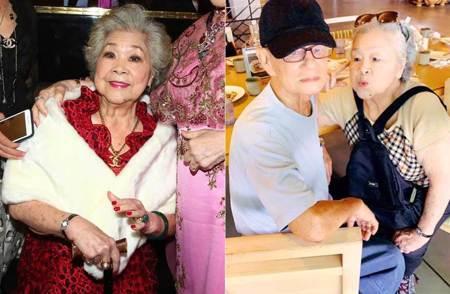 上回現身暴瘦跛腳拄拐杖 87歲素珠阿姨消失2年近況曝光