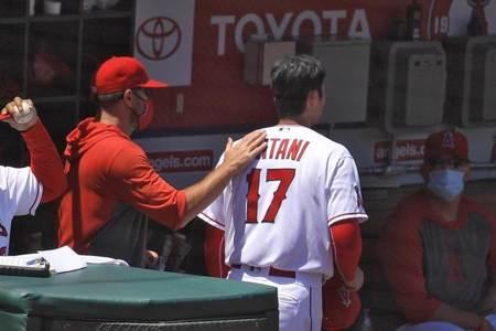 MLB》大谷關鍵球遭誤判 賽後接受手臂檢查