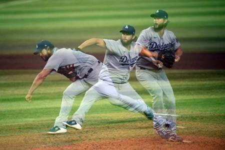 MLB》道奇王牌歸位 柯蕭無失分奪首勝