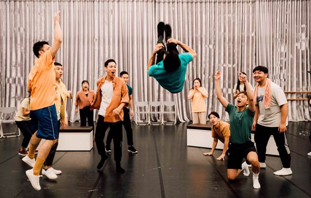 台中國家歌劇院「音樂劇線上─新起之秀」工作坊,啟動專業音樂劇受訓課程。(台中國家歌劇院提供/陳淑芬台中傳真)