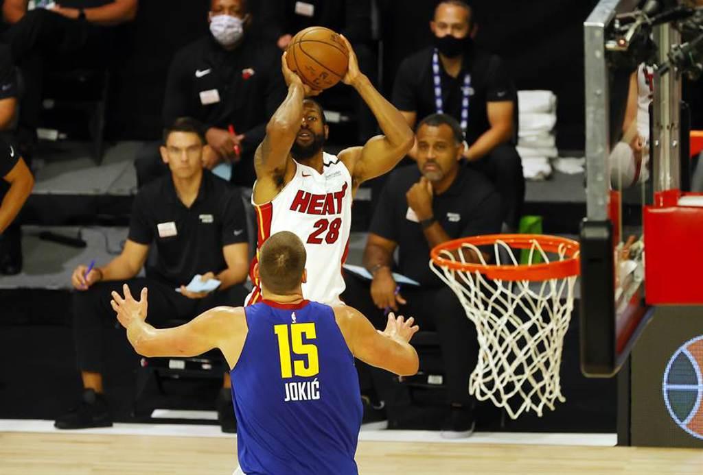 熱火老將伊戈達拉,成為NBA史上第7位生涯投進1000顆三分球、1500次抄截以及500次阻攻以上的球員。(美聯社資料照)