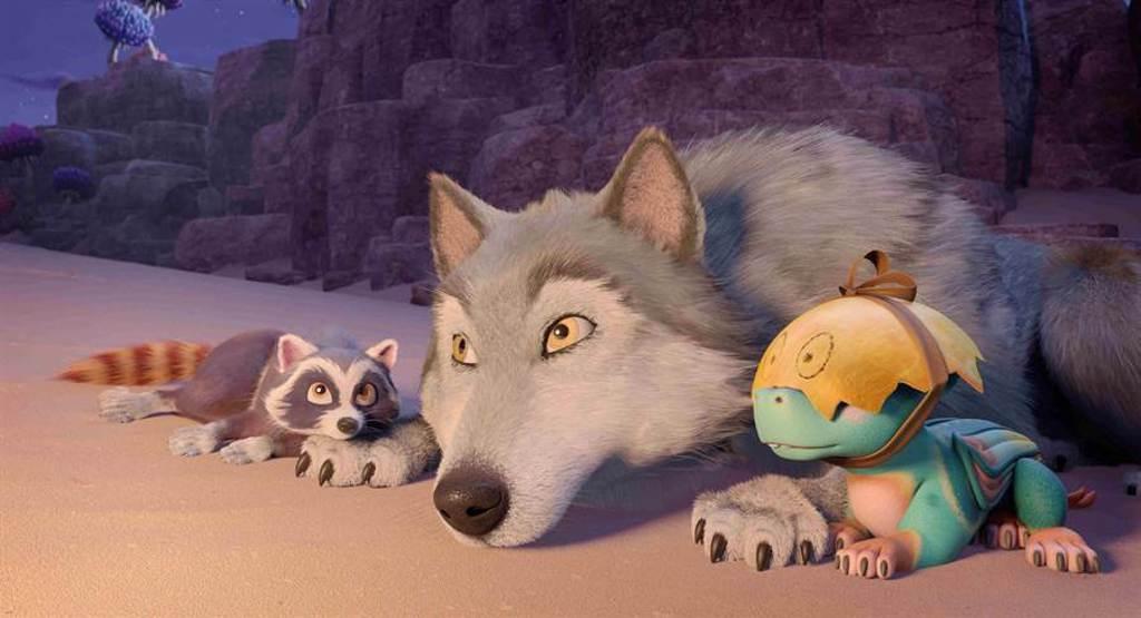 《巴亞拉魔幻冒險》最吸睛的角色,竟是全片0台詞的動物們。(海鵬提供)