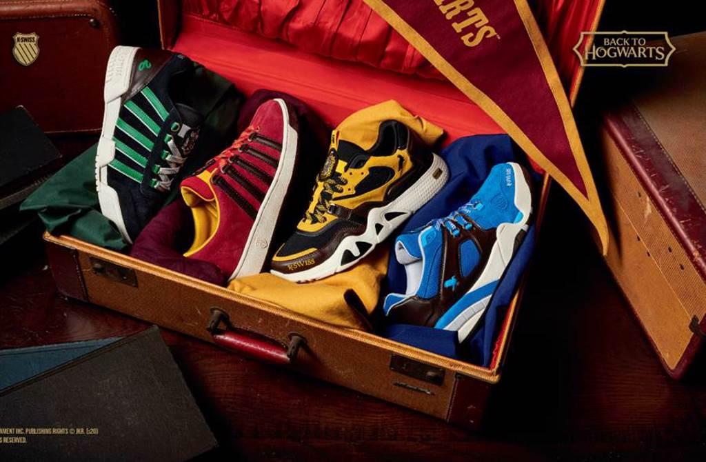 哈利波特迷必收魔法球鞋 霍格華茲學院推4大經典鞋款(圖/品牌提供)