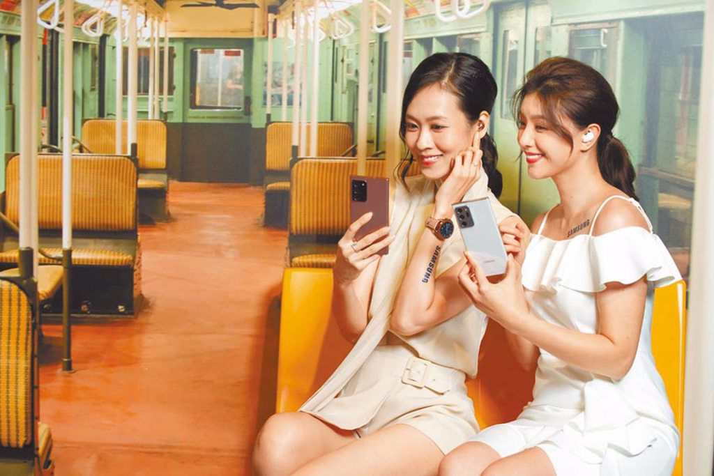 三星昨(5日)發表全新的Galaxy Note20系列,以「隨時隨地、無縫連接」作為重點,希望滿足消費者在工作、娛樂上能隨時隨心切換的需求。(三星提供)