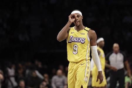 NBA》湖人爭冠利多 隆多搶在季後賽歸隊