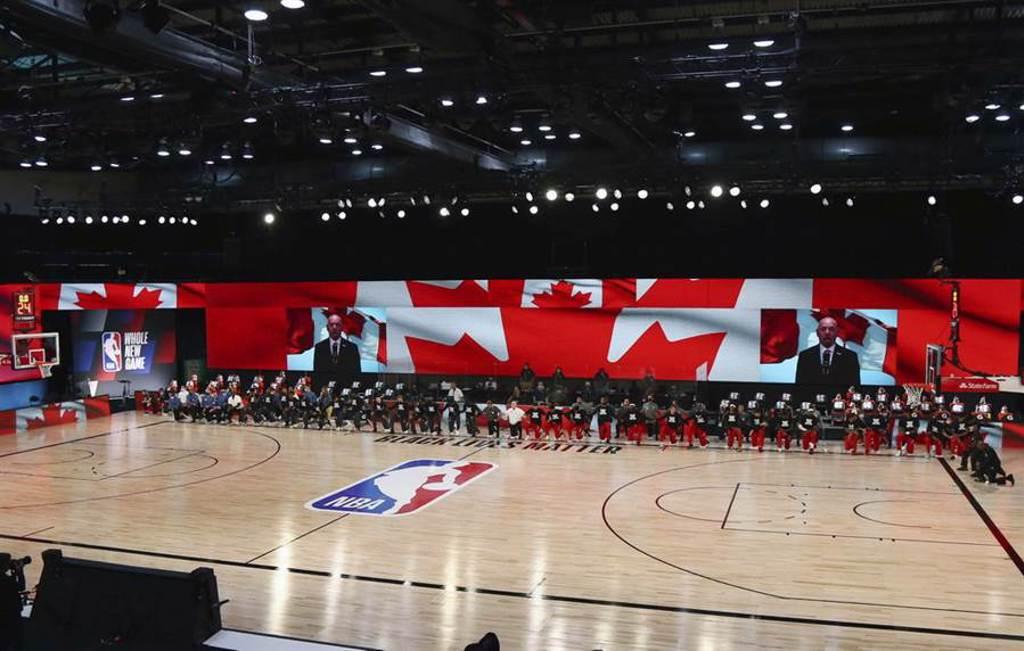 NBA與球員工會連3次宣布343名球員新冠檢測0感染的好消息。(美聯社)