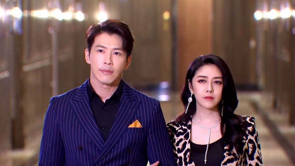 黃少祺、韓瑜在《天之驕女》演出受好評。(三立提供)