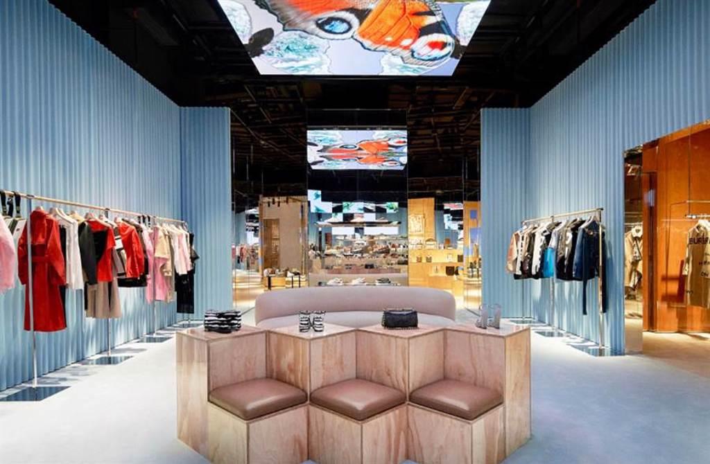 BURBERRY 開設全球首間社交零售店(圖/品牌提供)