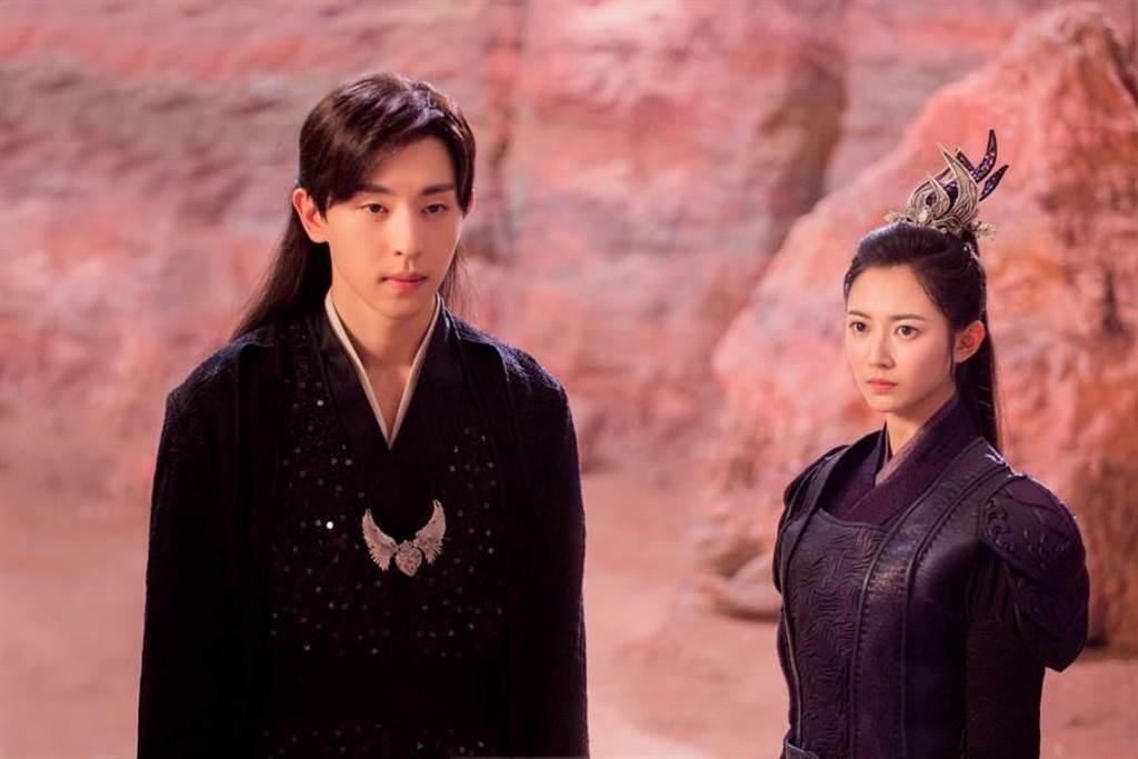 《香蜜沉沉燼如霜》陳鈺琪和鄧倫有精彩對手戲。(中視提供)