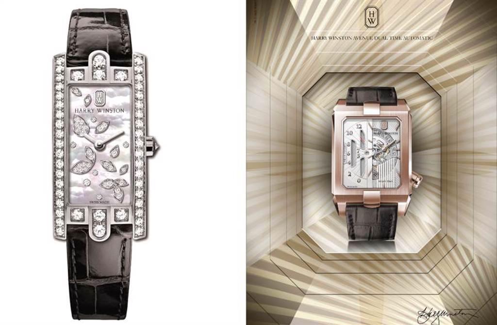 情人節首選「鑽石之王」海瑞溫斯頓 紅寶石時計見證浪漫時刻(圖/品牌提供)