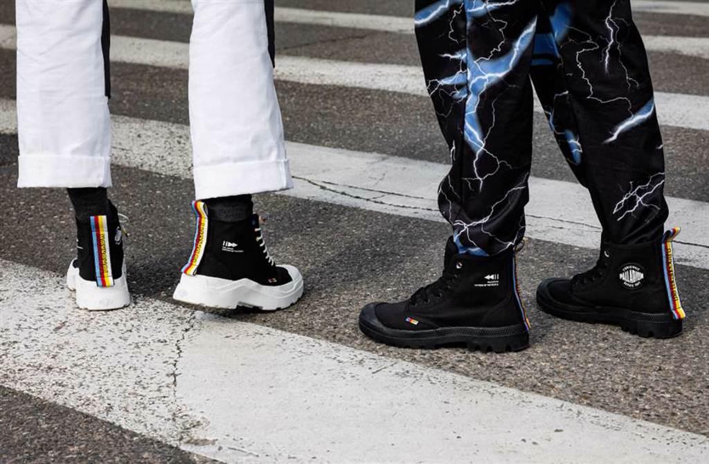 電音元素碰撞高彩度鞋身 隱藏限定版「明日潮靴」上線(圖/品牌提供)
