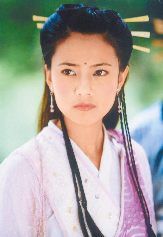大陸女星陳鈺琪在新版《倚天屠龍記》飾演趙敏,被網友讚貌似高圓圓。(資料照片)