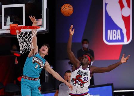 NBA》暴龍勝灰熊鎖定東區第2 附加賽敲定