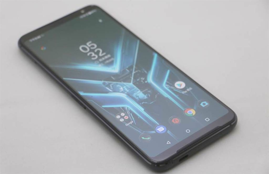 華碩ROG Phone 3。(黃慧雯攝)