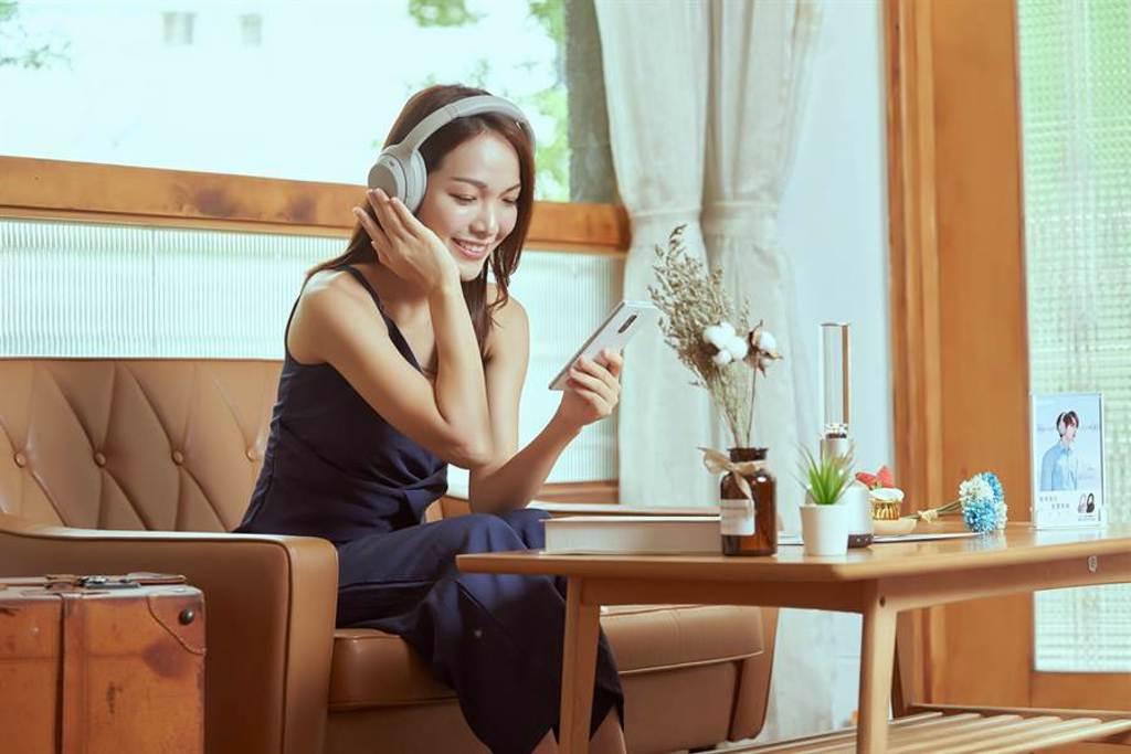 Sony  WH-1000XM4無線耳機在台發表。(Sony提供/黃慧雯台北傳真)