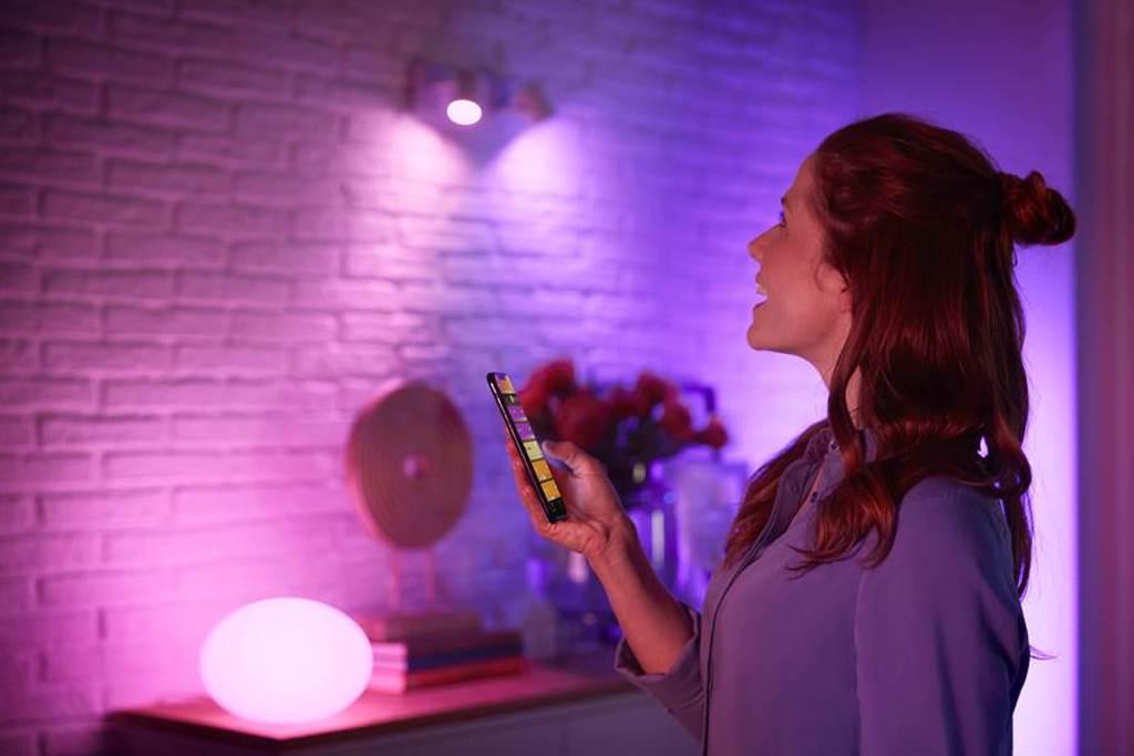 「Philips Hue with Bluetooth」系列新品內建5大情境30多種精選場景。(圖/品牌提供)