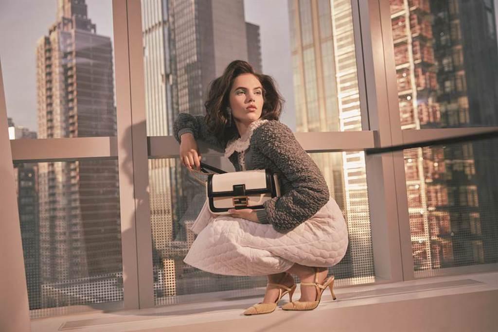 FENDI 2020早秋系列打造雋永精緻的Belle de Jour白日美人(圖/品牌提供)