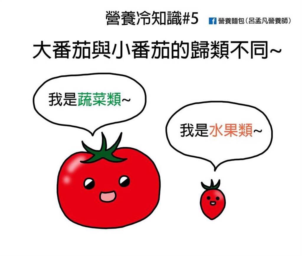 番茄是蔬菜?營養師神解身世,網一看停戰了。(圖/呂孟凡提供)