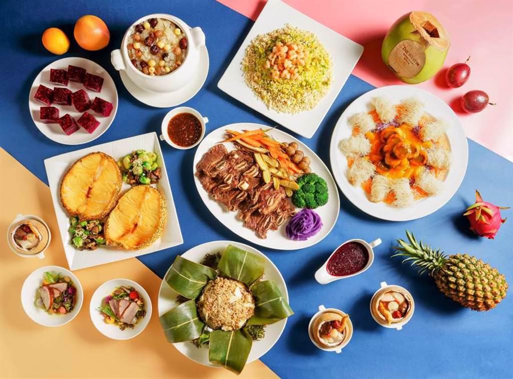 大溪威斯汀推出「仲夏繽紛水果饗宴」。(飯店提供/蔡依珍桃園傳真)