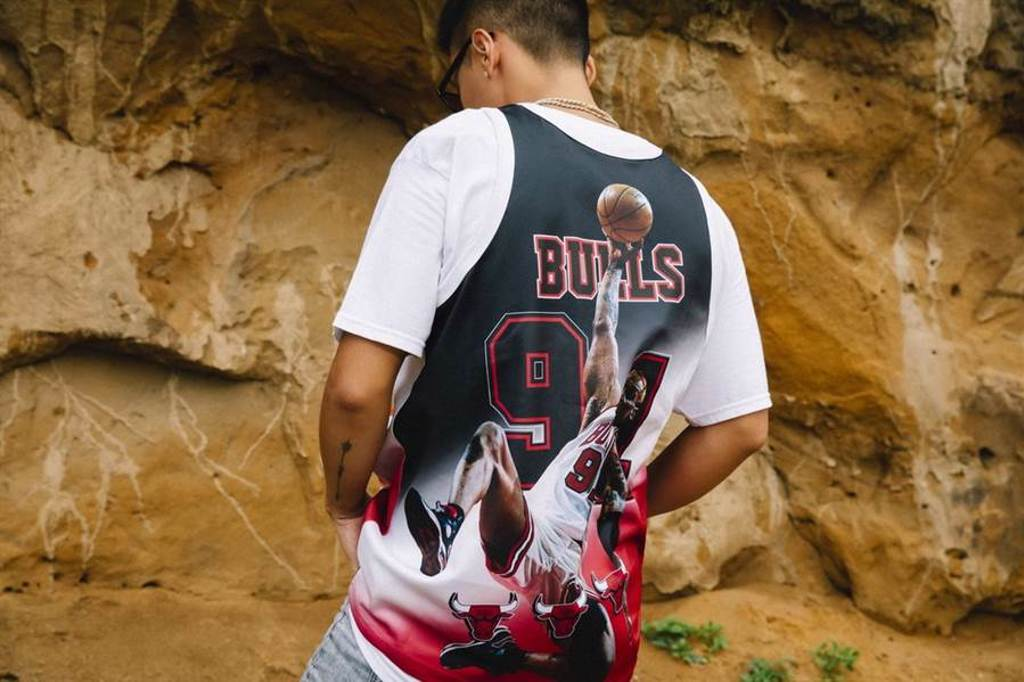 NBA Behind the Back Tank Collection。(M&N提供)