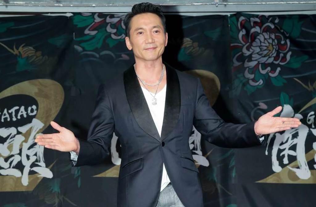 鄒兆龍曾演出台灣人氣電影《角頭2》。(中時資料照片)