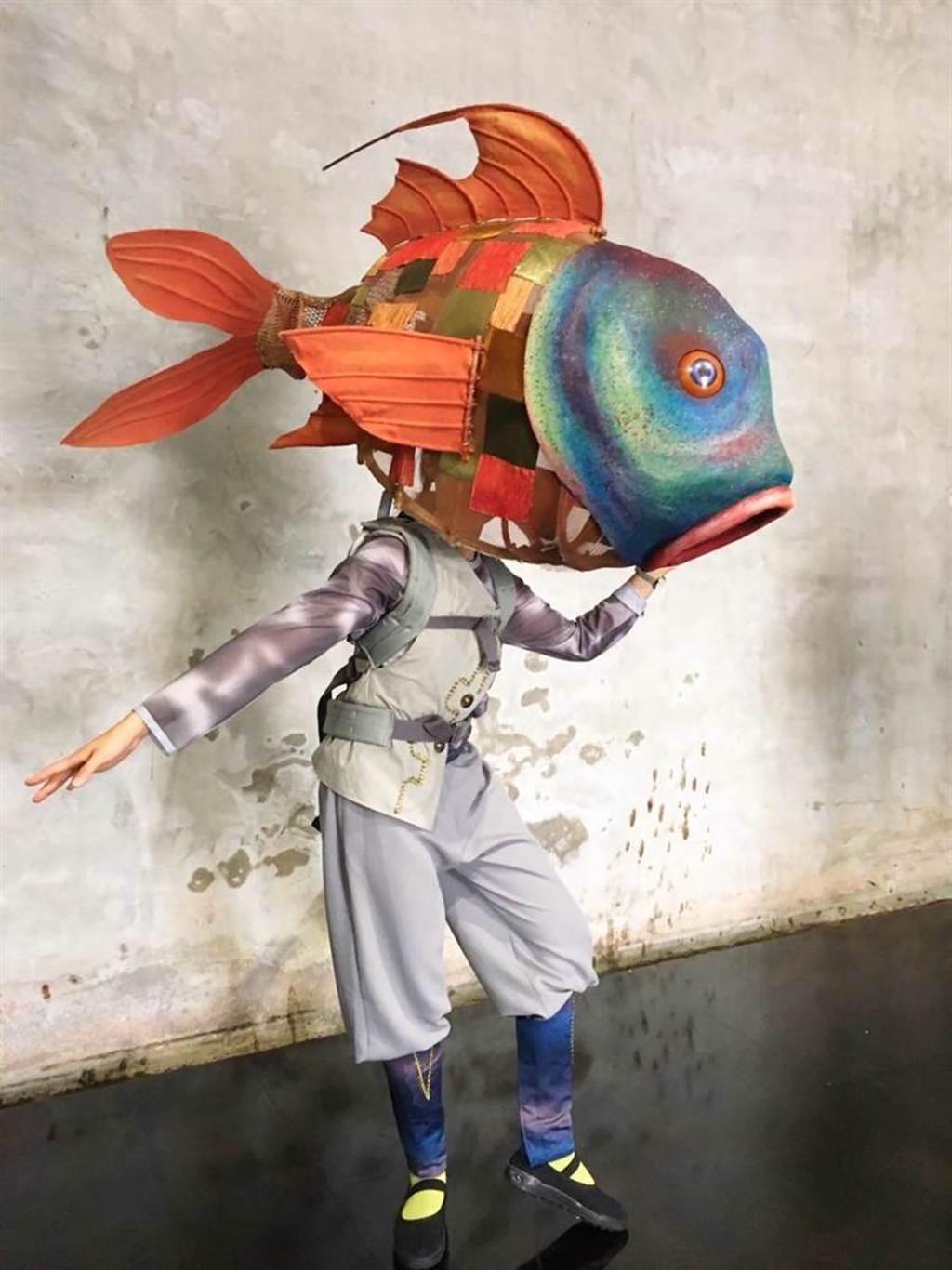 「2020故宮夏日藝術節」將在8月15、29日推出《飛船與海怪》戶外偶戲表演。圖/國立故宮博物院提供