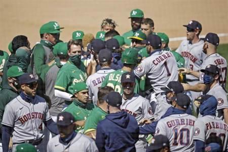 MLB》觸身球大亂鬥 太空人教練被禁賽20場
