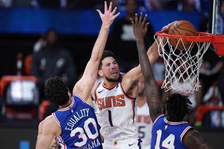 NBA》太陽曬傷七六人 七連勝到手西區第九