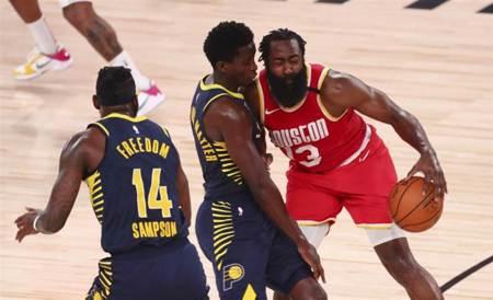 NBA》哈登45分無用 火箭不敵溜馬吞2連敗