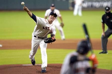 MLB》暗號直接喊出來!太空人強投照樣解決對手