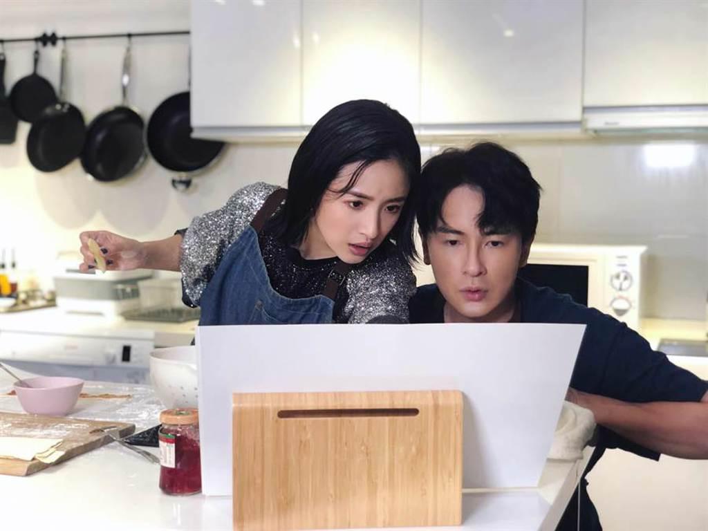 鄭元暢、林依晨過去合作《惡作劇之吻》締造經典CP。(最大國際娛樂提供)