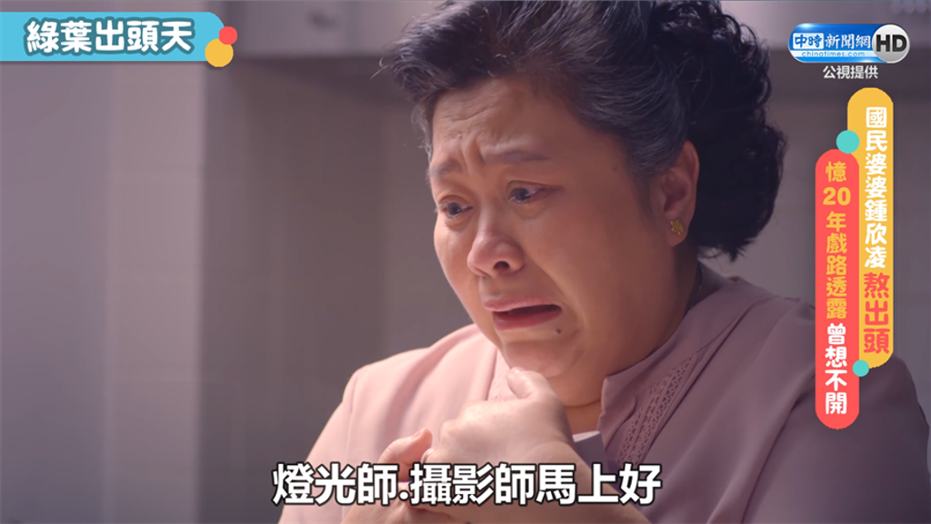 國民婆婆鍾欣凌熬出頭!憶20年戲路透露曾想不開(公視提供)