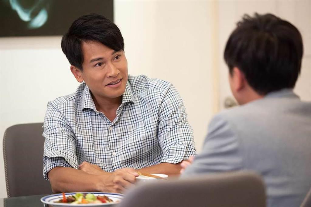 王建復近期忙拍《女力報到-正好愛上你》。(TVBS提供)