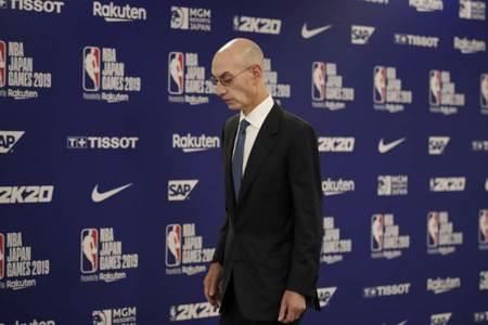 NBA》席爾佛:籃球與政治難切割 下季觀眾進場
