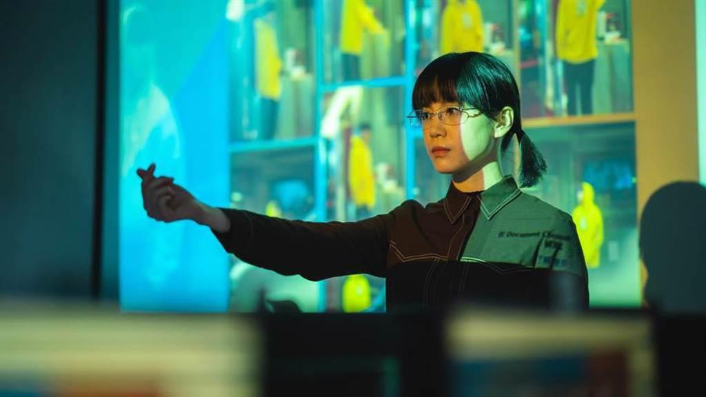 程予希在片中飾演有強迫症的女同學。(華映娛樂提供)
