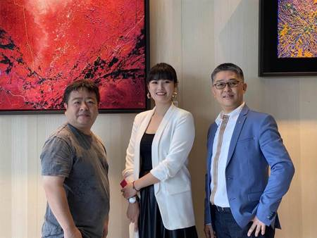 美女新銳藝術家陳培瑜《女子樣》「裕盛沁森林」開展