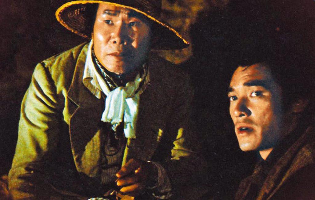 《八墓村》連結日本戰國傳說與現代離奇事件,殺戮場面異常恐怖。(摘自豆瓣)
