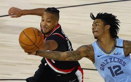 NBA》雙槍合飆60分 拓荒者逆襲灰熊晉級