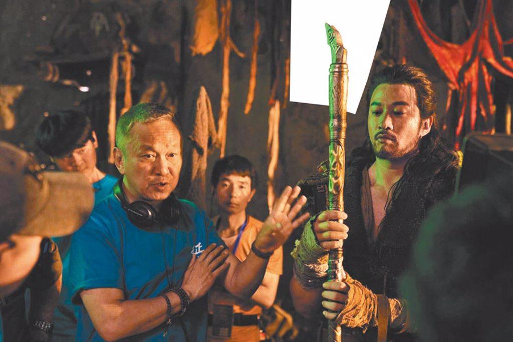 陳德森(左)形容何潤東外型像戰爭機器,兩人合作愉快。(陳德森提供)