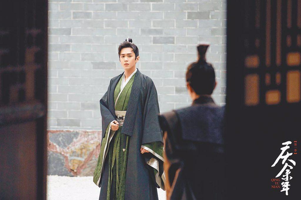 張若昀演出《慶餘年》後人氣大漲。(摘自微博)