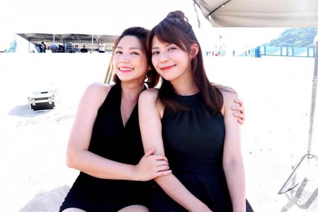 林萱瑜與曾智希在《天之驕女》是一對連體嬰,兩人的演出有無破綻,在網路上引發熱議。(圖/三立提供)